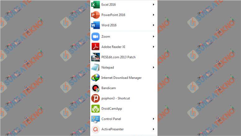 Microsoft Office Sudah Tersedia di Menu Start