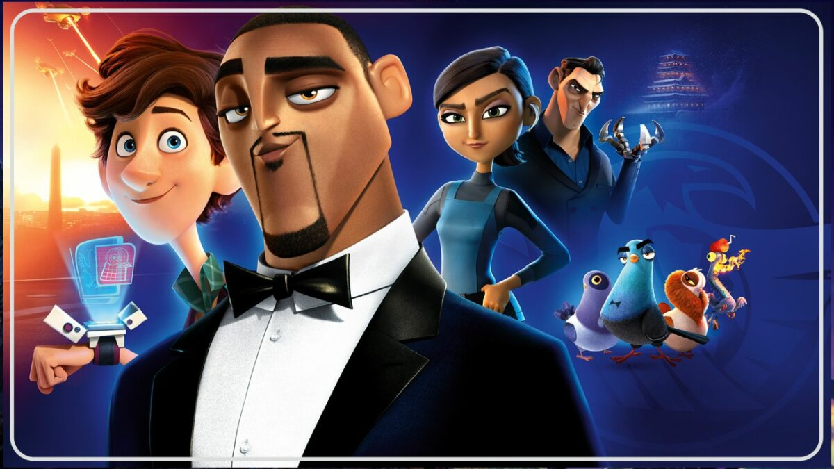 Spies in Disguise (2019) - Film Action Comedy Terbaik