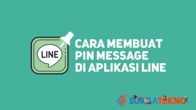 Photo of Cara Mudah Untuk Membuat Pin Message di LINE
