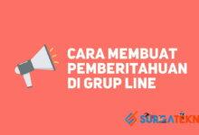 Photo of Cara Membuat Pemberitahuan Di Grup LINE Messenger