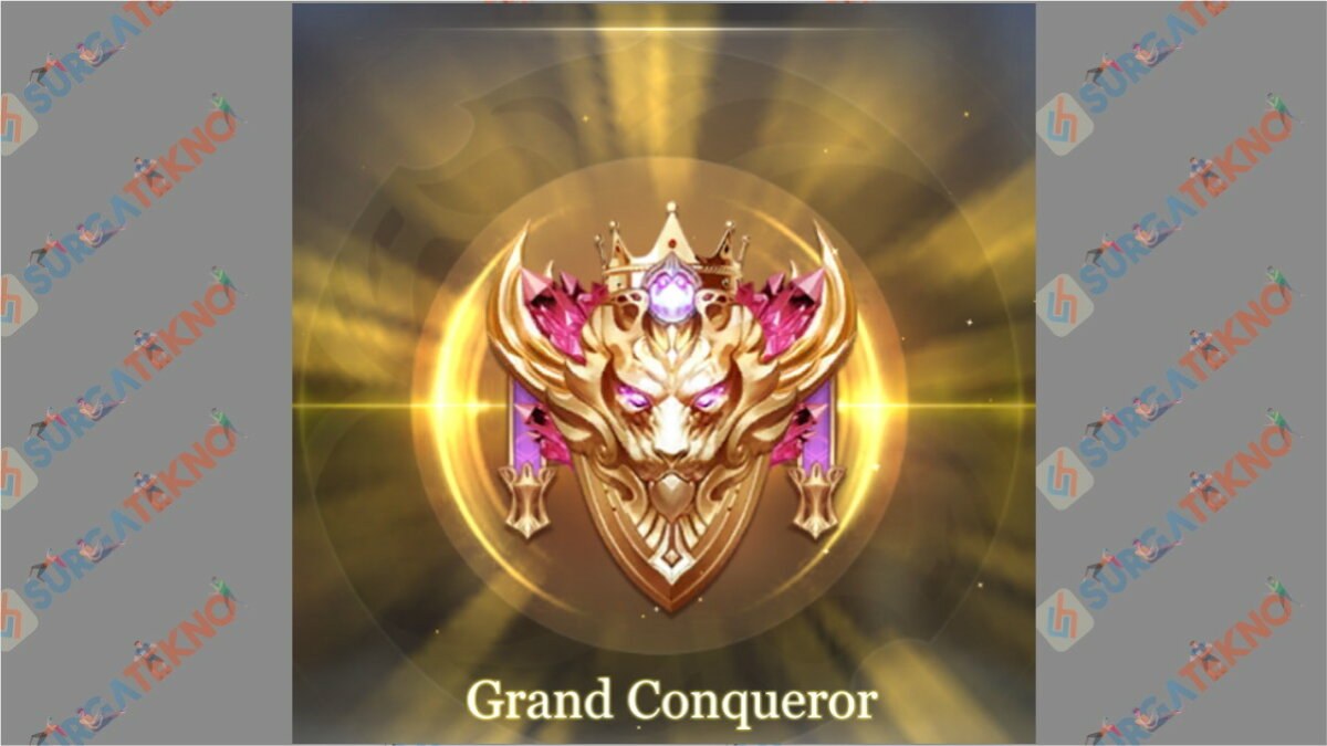 Rank Grand Conqueror