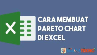 Cara Membuat Pareto Chart di Excel