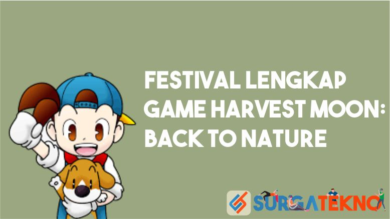 Festival Harvest Moon Back to Nature