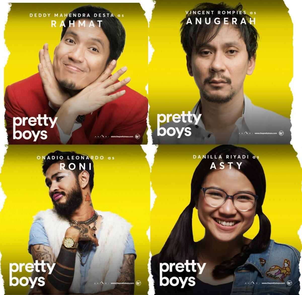 Pemain Pretty Boys