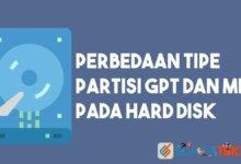 Perbedaan GPT dan MBR