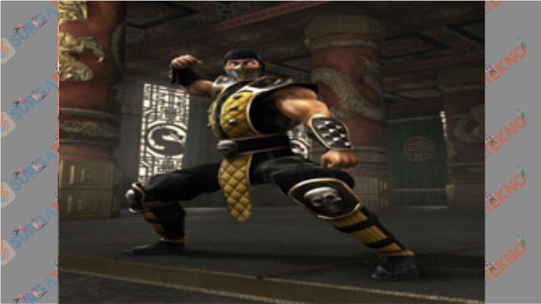 Scorpion - Mortal Kombat Shaolin Monks