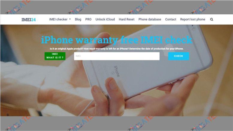 Cek Garansi iPhone Lewat IMEI24
