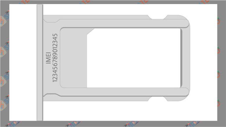 IMEI di Slot SIM Card iPhone