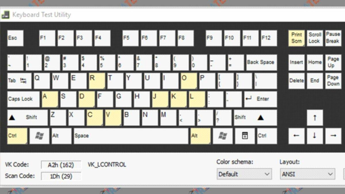 Keyboard Test Utility - Aplikasi Test Keyboard