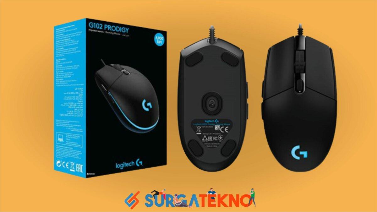 Logitech Prodigy G102 - Mouse Gaming Terbaik