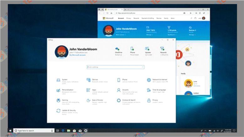 Perubahan Settings di Windows 10