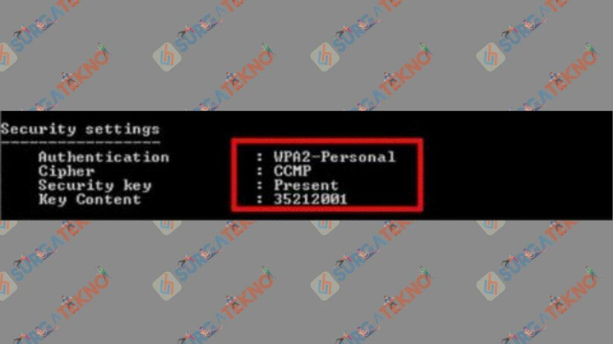 Profil Wi-Fi dan password sudah tampil - Cara Membobol WiFi dengan Laptop.j