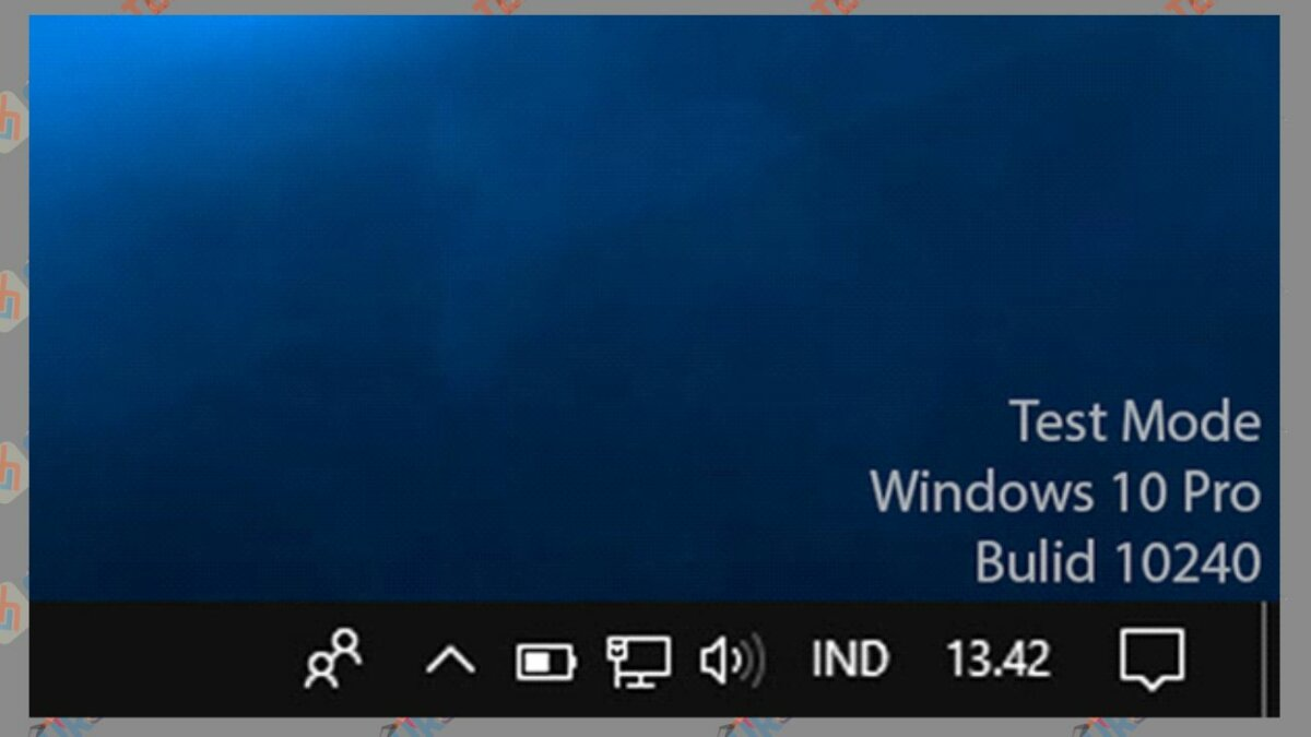 Test Mode Windows 10