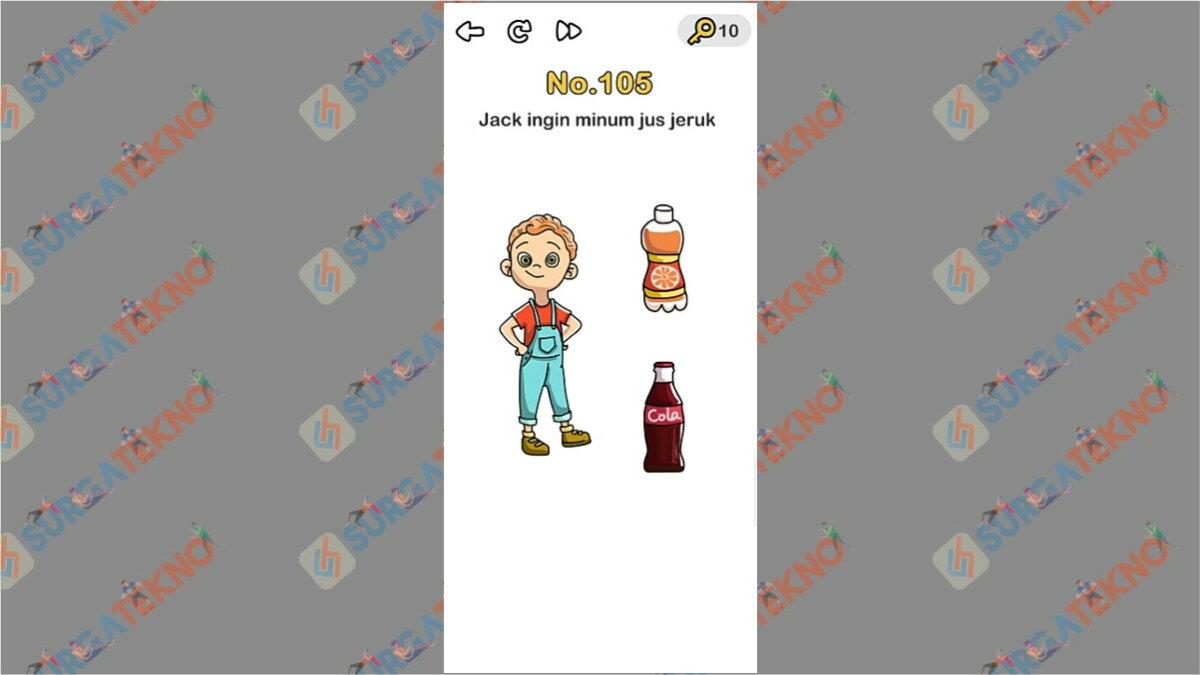 Jack ingin minum jus jeruk - brain out