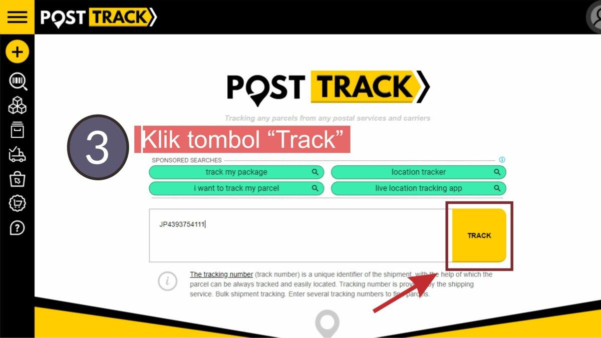 Klik Tombol Track