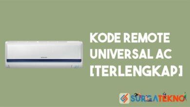 Kode Remote Universal AC