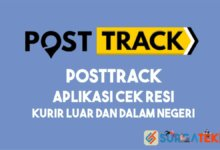 PostTrack - Aplikasi Cek Resi Kurir Luar dan Dalam Negeri