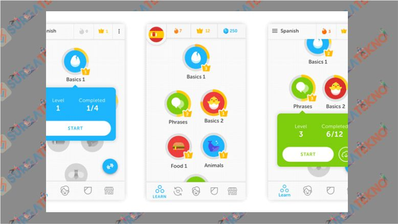 Duolingo - Aplikasi Belajar Bahasa Korea