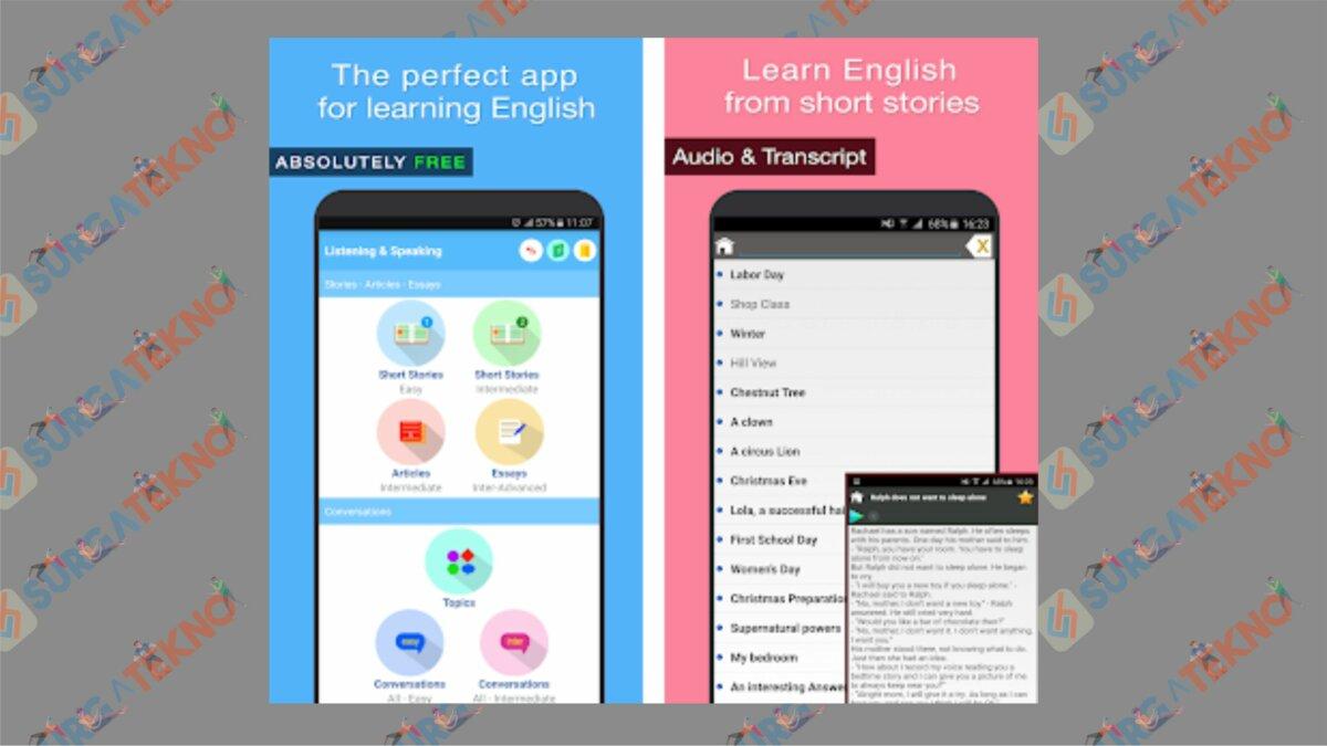 English Listening & Speaking - Aplikasi Belajar Bahasa Inggris