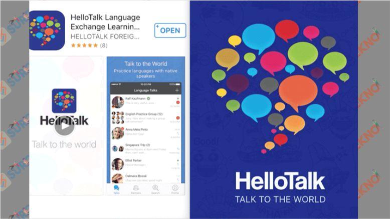 HelloTalk - Learn Languages Free - Aplikasi Belajar Bahasa Korea