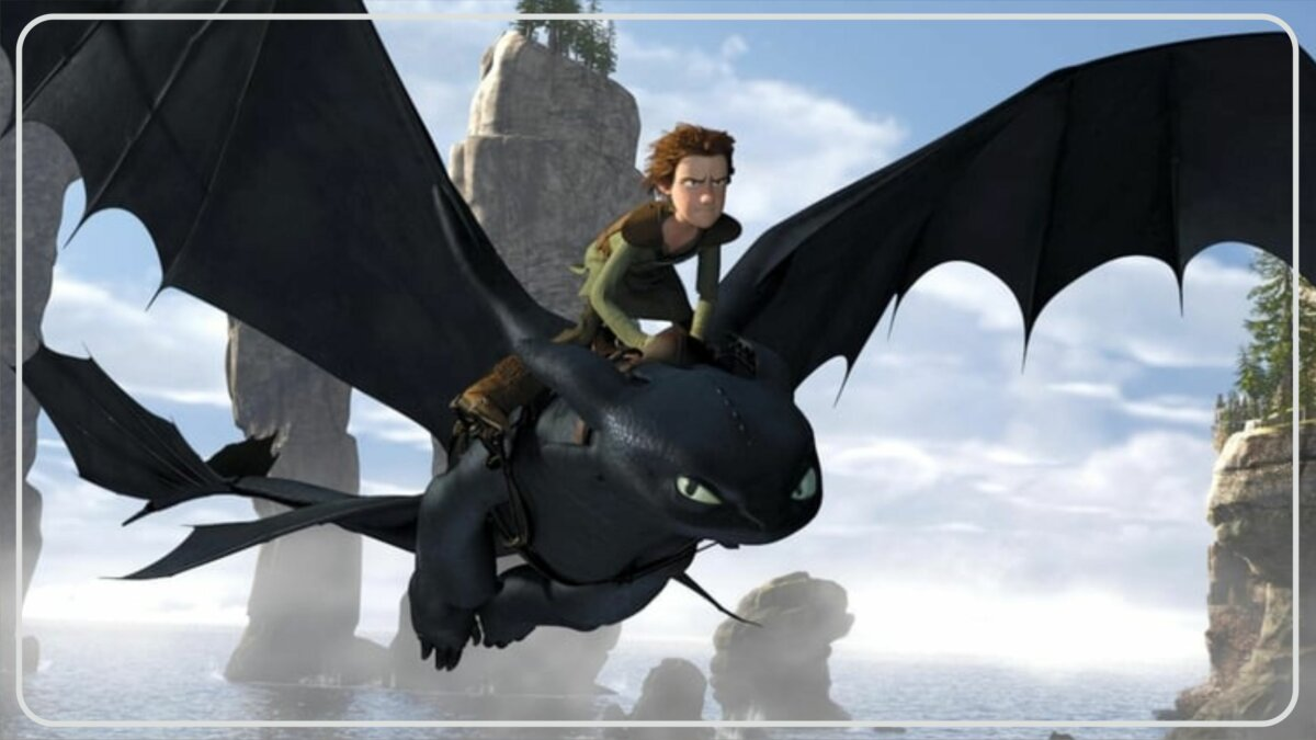How to Train Your Dragon (2010) - Film Tentang Makhluk Mitos
