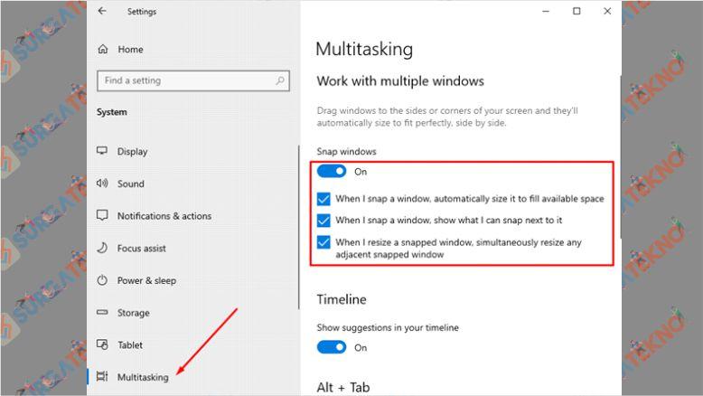 Aktifkan Fitur Split Screen Windows 10 - Cara Membagi Layar (Split Screen) Di Windows 10
