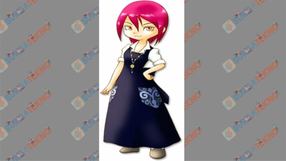 Aurelia - Bio Karakter Harvest Moon Hero of Leaf Valley