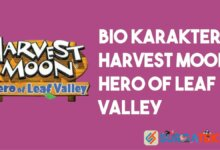 Bio Karakter Harvest Moon Hero of Leaf Valley