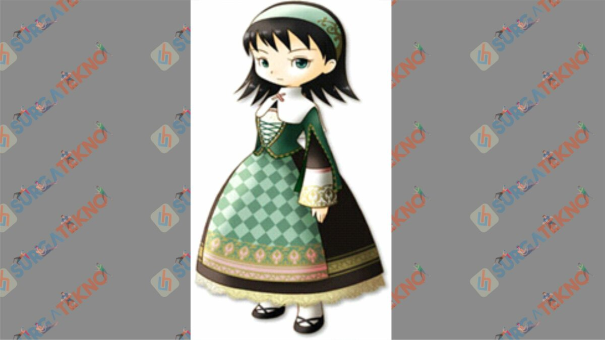Dia - Bio Karakter Harvest Moon Hero of Leaf Valley