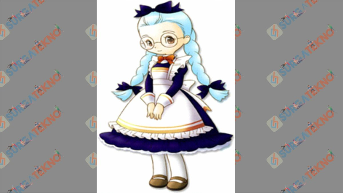 Gina - Bio Karakter Harvest Moon Hero of Leaf Valley