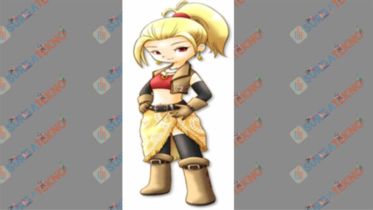 Gwen - Bio Karakter Harvest Moon Hero of Leaf Valley