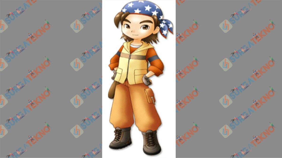 Joe - Bio Karakter Harvest Moon Hero of Leaf Valley