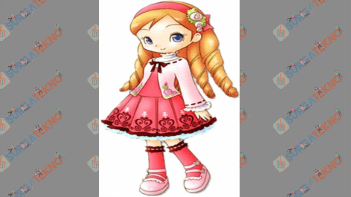 Katie - Bio Karakter Harvest Moon Hero of Leaf Valley