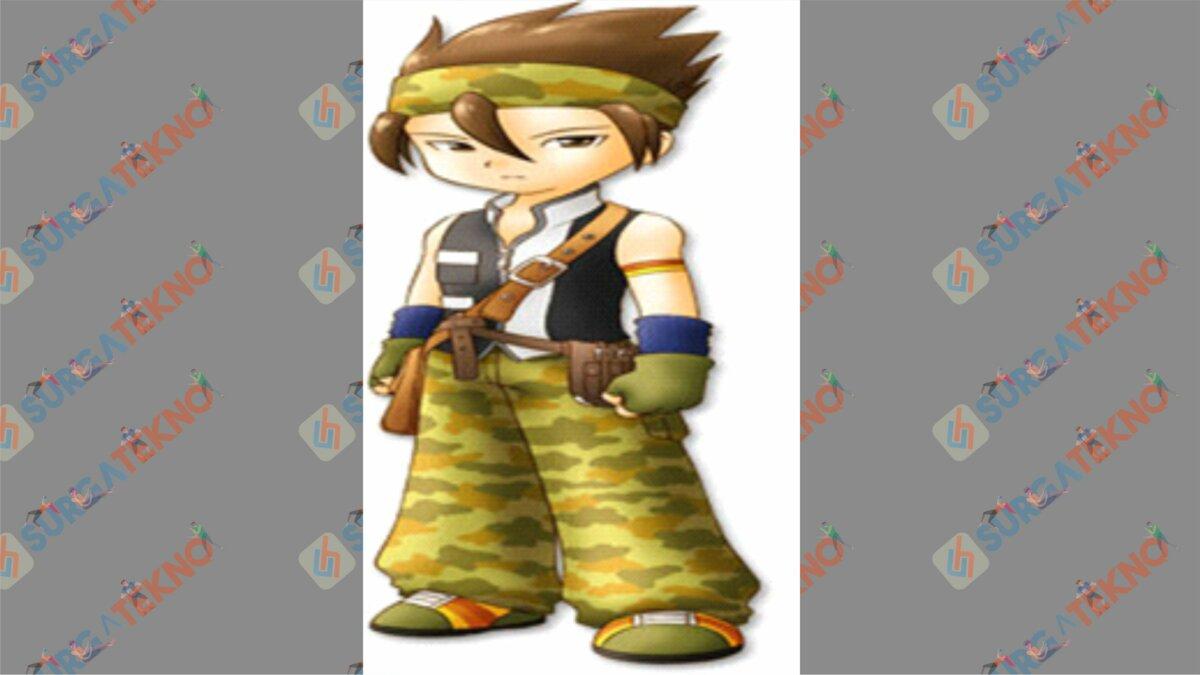 Kurt - Bio Karakter Harvest Moon Hero of Leaf Valley