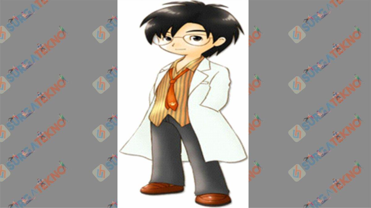 Louis - Bio Karakter Harvest Moon Hero of Leaf Valley