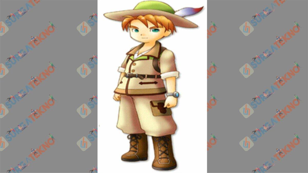 Parsley - Bio Karakter Harvest Moon Hero of Leaf Valley