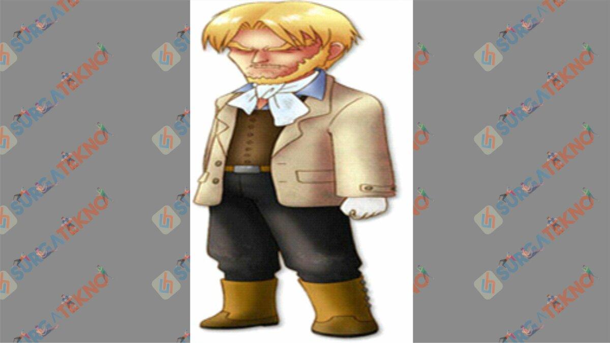 Rudolph - Bio Karakter Harvest Moon Hero of Leaf Valley