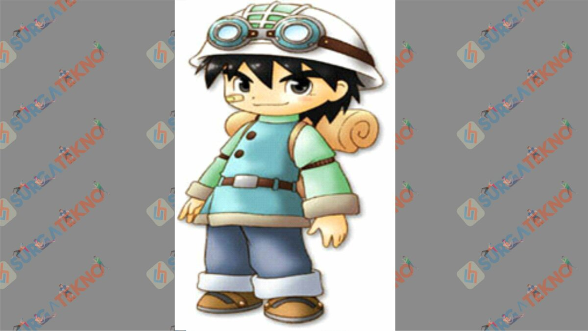 Tim - Bio Karakter Harvest Moon Hero of Leaf Valley
