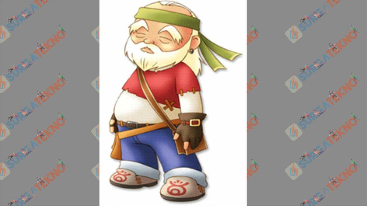 Woody - Bio Karakter Harvest Moon Hero of Leaf Valley
