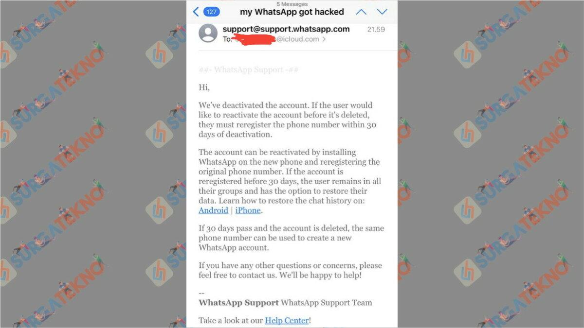 WhatsApp yang dihack Berhasil Direbut Kembali