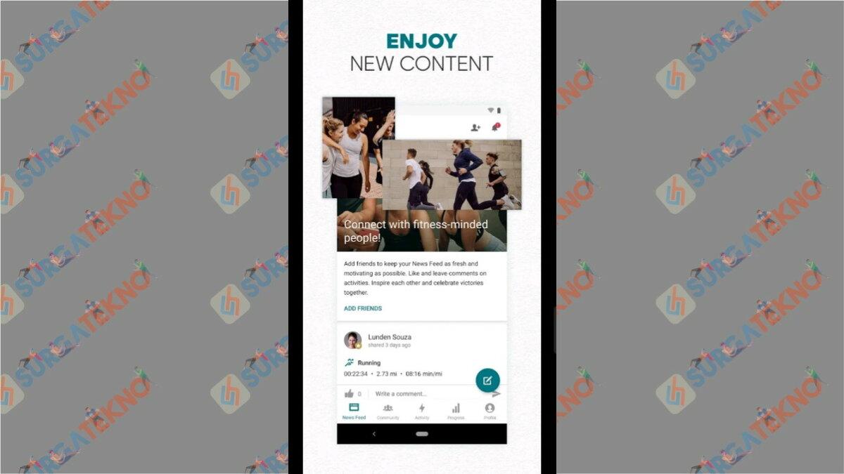 Adidas Running App - Aplikasi pengukur jarak lari