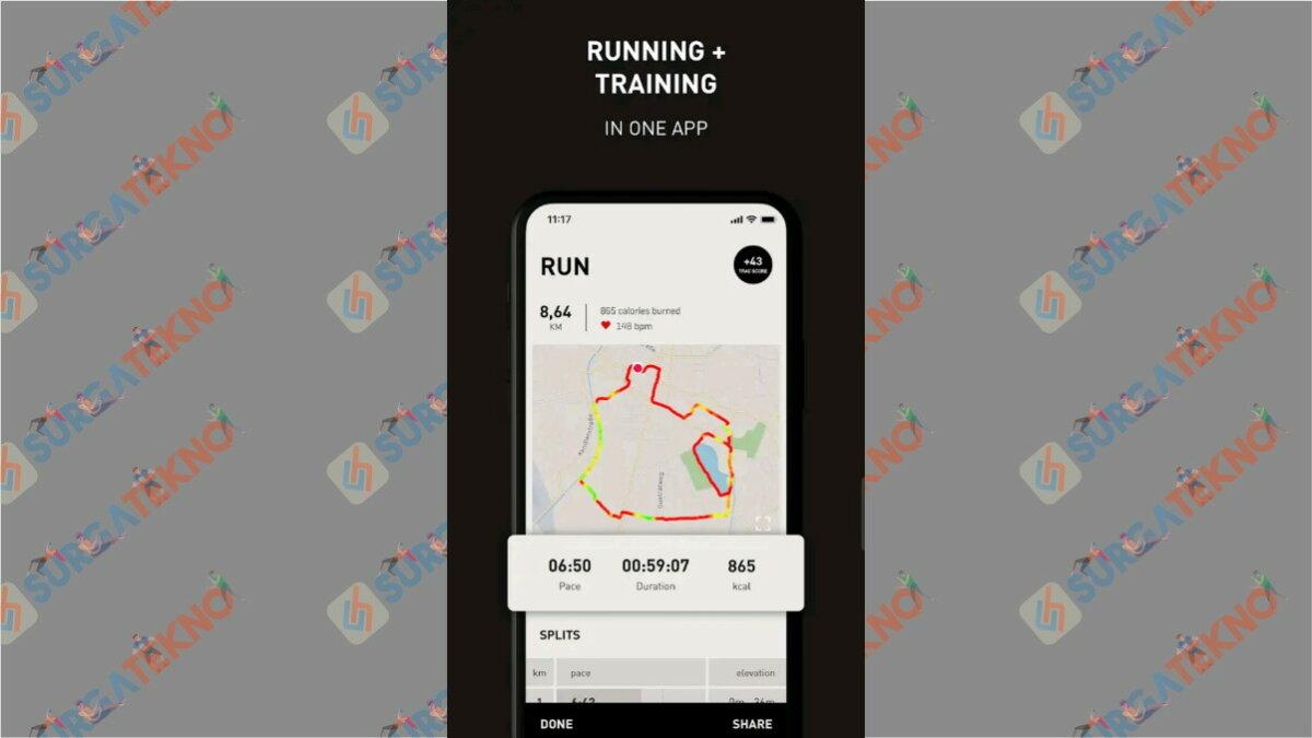 PumaTrac - Aplikasi pengukur jarak lari