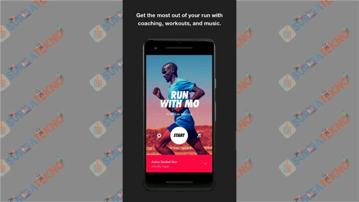 Nike Run Club - Aplikasi pengukur jarak lari