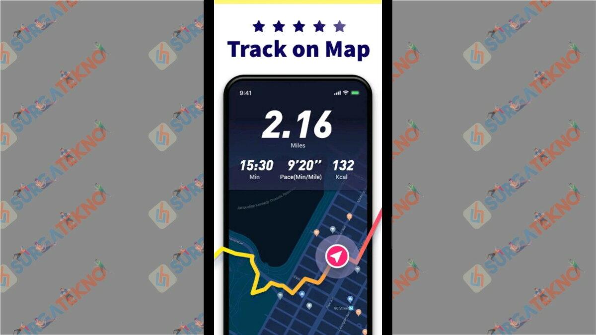 Running App - Aplikasi pengukur jarak lari