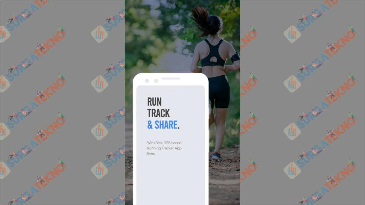 Running Tracker - Aplikasi pengukur jarak lari