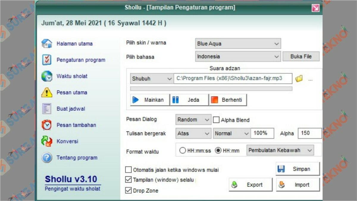 Review dan Link Download Shollu untuk Windows