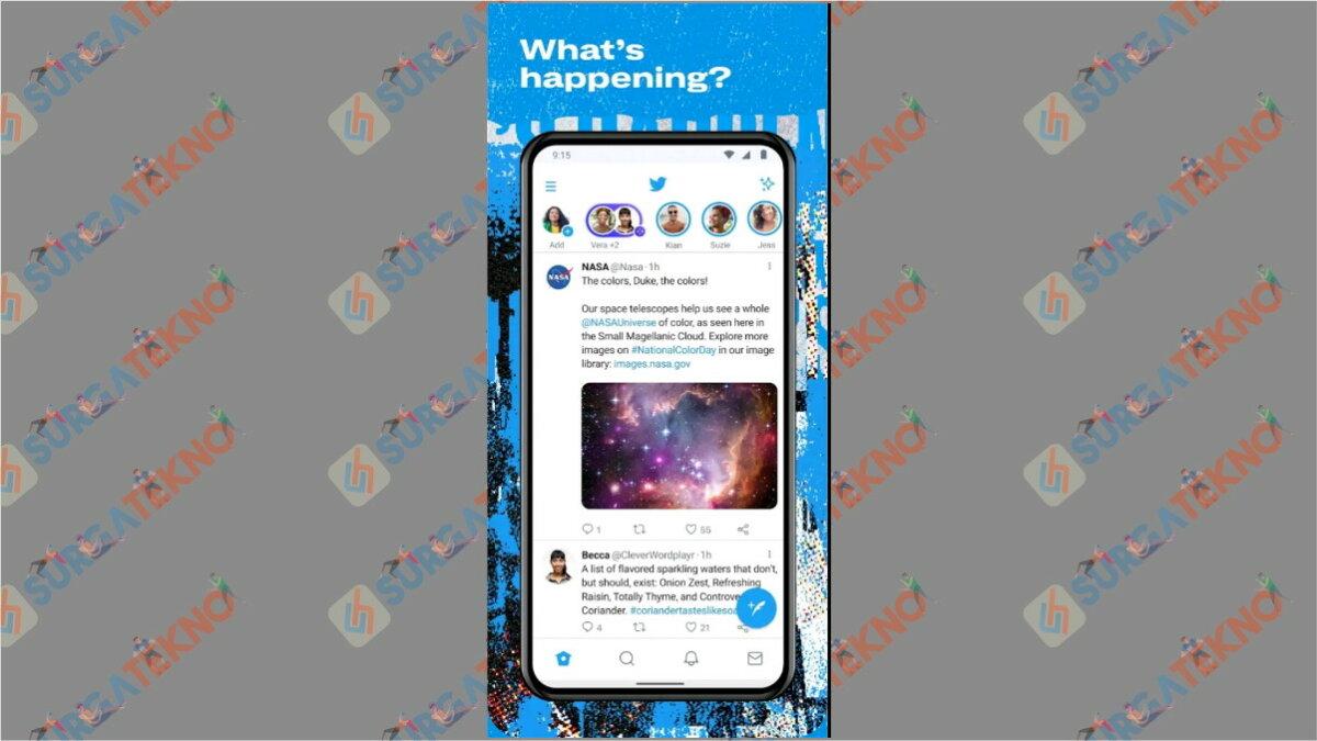 Twitter - Aplikasi Paling Boros Kuota Internet