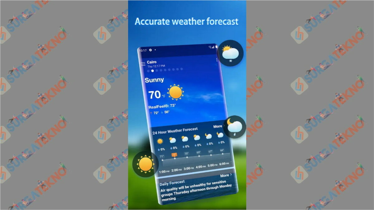 Weather Forecast - Aplikasi cuaca terbaik