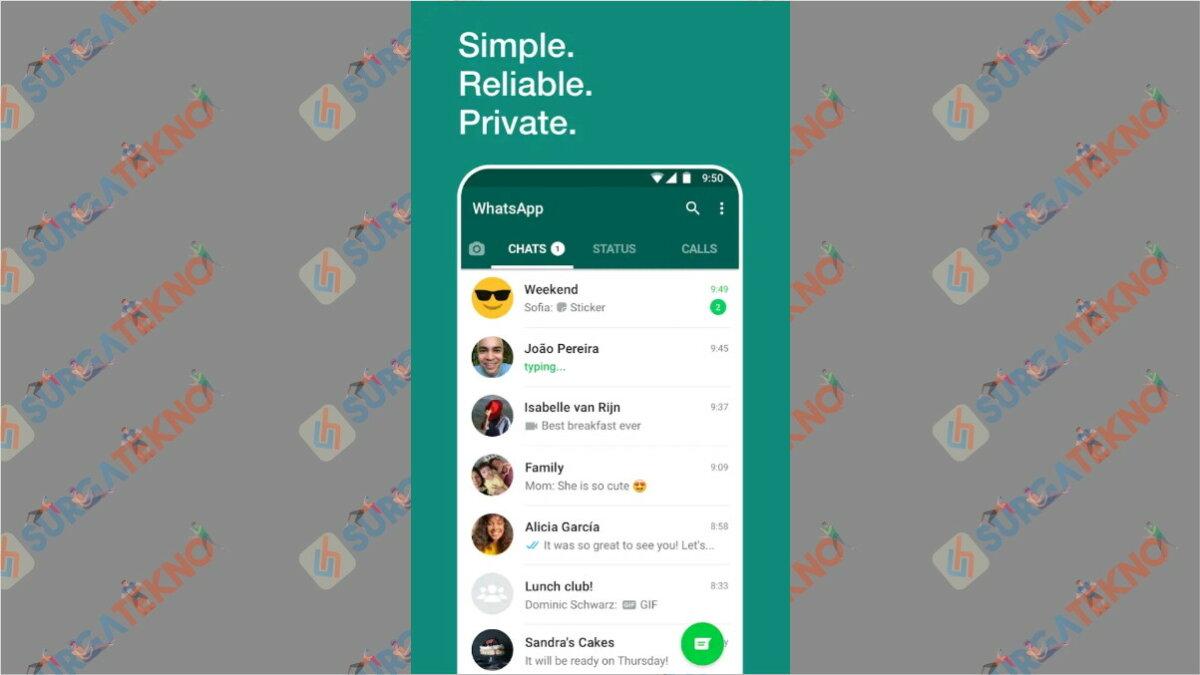 WhatsApp - Aplikasi Paling Boros Kuota Internet