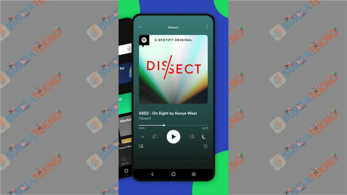 Spotify - Aplikasi Paling Boros Kuota Internet